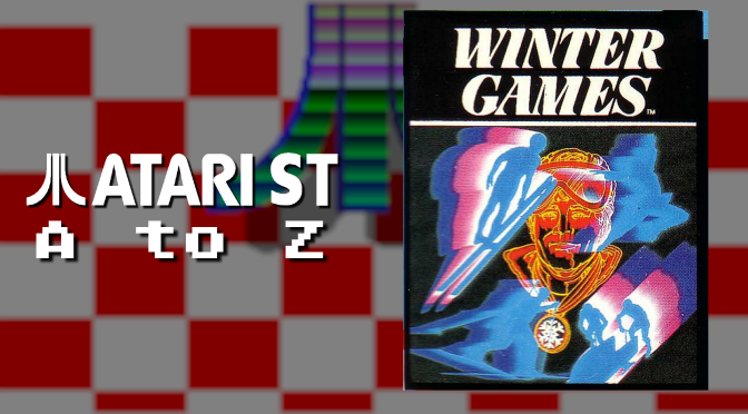 Atari ST A to Z: Winter Games