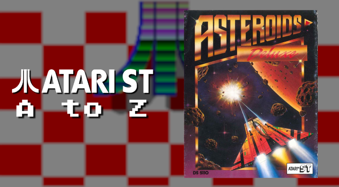Atari ST A to Z: Asteroids Deluxe