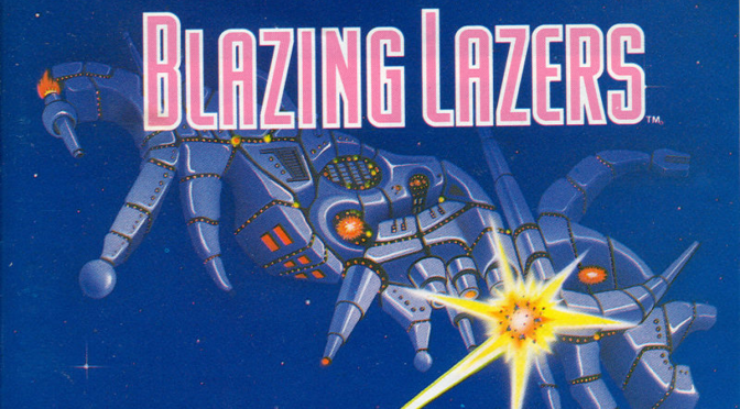 Blazing Lazers: Pew Pew PC Engine