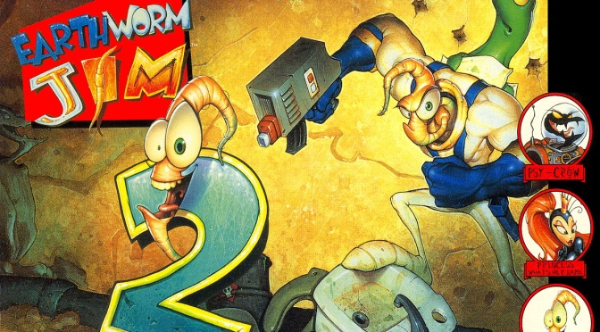 Earthworm Jim 2: See What Sticks