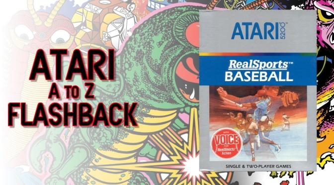 Atari A to Z Flashback: RealSports Baseball