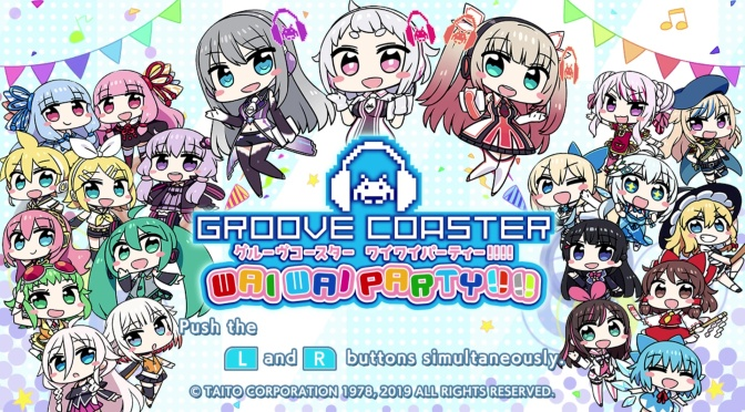 Groove Coaster Wai Wai Party!!!!: Rockin' Out With the VTubers and Vocaloids