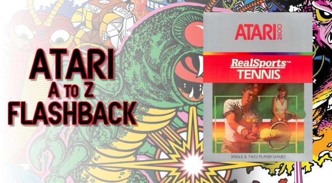 Atari A to Z Flashback: RealSports Tennis