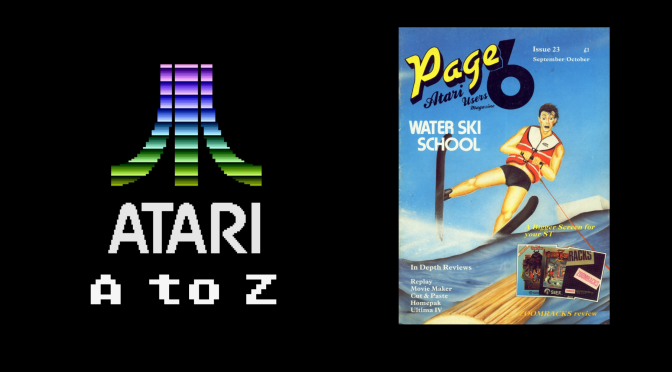 Atari A to Z: Water Ski School