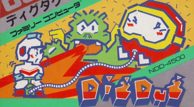 Dig Dug: Diggin' Dirty