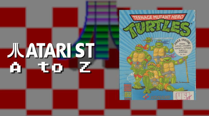 Atari ST A to Z: Teenage Mutant Hero Turtles