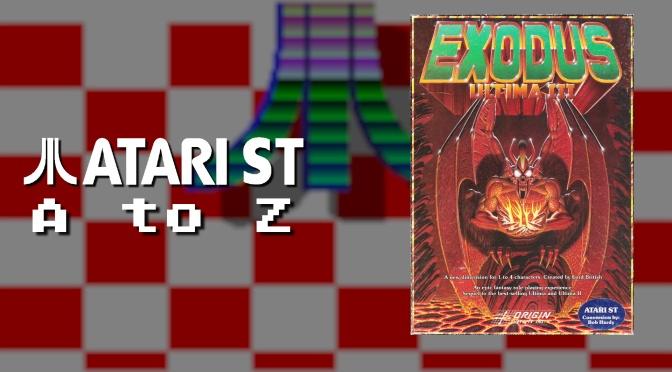 Atari ST A to Z: Ultima III – Exodus