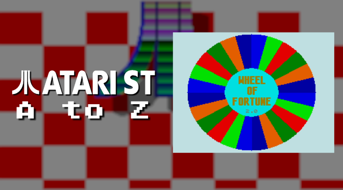 Atari ST A to Z: Wheel of Fortune