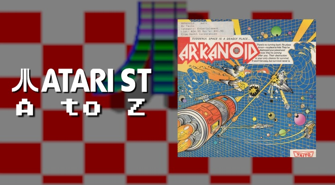 Atari ST A to Z: Arkanoid