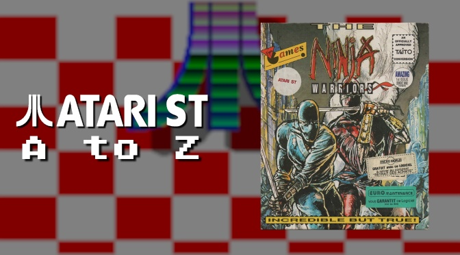 Atari ST A to Z: The Ninja Warriors
