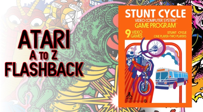 Atari A to Z Flashback: Stunt Cycle