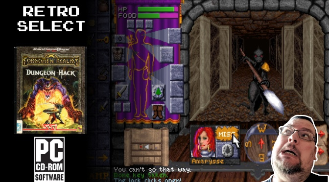 Retro Select: Dungeon Hack