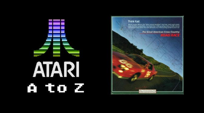 Atari A to Z: The Great American Cross-Country Road Race