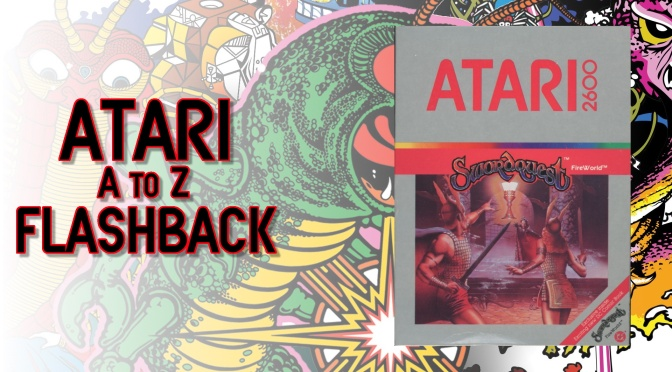 Atari A to Z Flashback: SwordQuest FireWorld