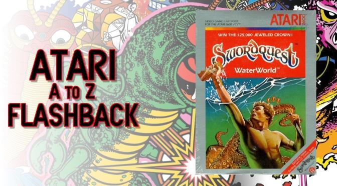 Atari A to Z Flashback: SwordQuest WaterWorld