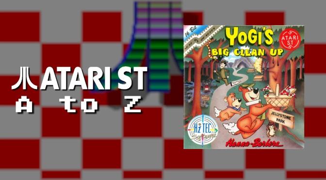 Atari ST A to Z: Yogi's Big Cleanup